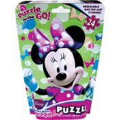 Minnie Mouse Puzzle Bag 24pc