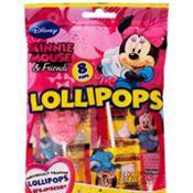 Minnie Mouse Lollipops 8ct