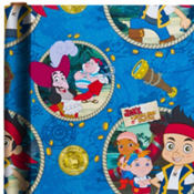 Jake and the Never Land Pirates Gift Wrap