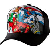 Child Comic Print Justice League Baseball Hat