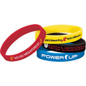 Power Rangers Megaforce Wristbands 4ct