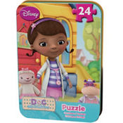 Doc McStuffins Puzzle Tin 24pc