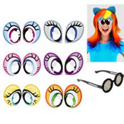 My Little Pony Cartoon Eyes 6ct