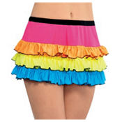 Electric Party Neon Skirt
