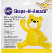 Yellow Edible Decorating Dough