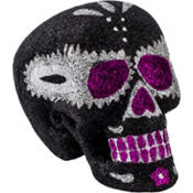 Purple Day of the Dead Sugar Skull