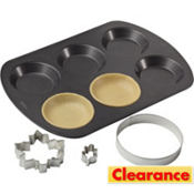Mini Pie Cutter Set 3pc
