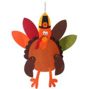 Jointed Felt Turkey
