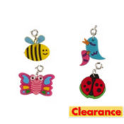 Loom Band Bug Charms 4ct