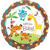 Fisher-Price Baby Shower Balloon - Round