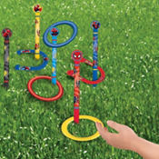 Spider-Man Ring Toss & Horseshoes Game 13pc