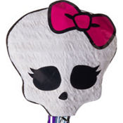 Pull String Skullette Monster High Pinata