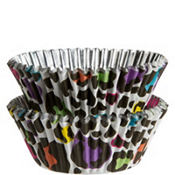 Rainbow Leopard Baking Cups 36ct