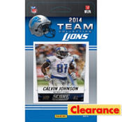 2014 Detroit Lions Team Cards 13ct