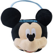 Plush Mickey Mouse Easter Basket