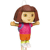 Pull String Dora the Explorer Pinata 19in