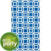 Eco-Friendly Indigo Geometric Guest Towels 16ct