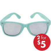 Mint Mirrored Sunglasses