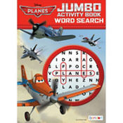 Planes Word Search Book