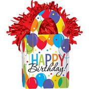 Rainbow Balloon Bash Birthday Balloon Weight