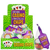 Fort Knox Milk Chocolate Casino Chips Bags 18ct