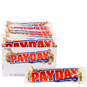 Milk Chocolate Pay Day Bars 24ct