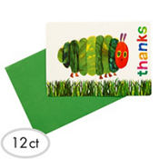 The Very Hungry Caterpillar Thank You Cards 12ct