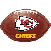 Kansas City Chiefs Foil Balloon 18in