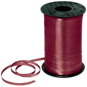 Burgundy Curling Ribbon 350yds