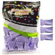 Lavender Chevron Pillow Mints 50ct