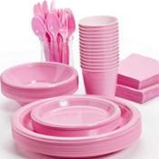 Pink Tableware