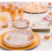 Sparkling Pink Wedding Party Supplies