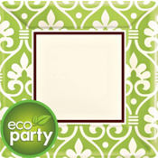 Natural Damask Party Supplies