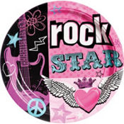 Rocker Girl Party Supplies