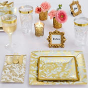 Golden Wedding Party Supplies