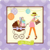 Modern Mommy Baby Shower Party Supplies