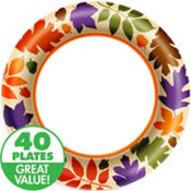 Autumn Warmth Value Plates & Tableware