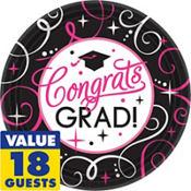 Sparkling Grad Graduation Party Supplies