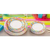 Sunny Plaid Value Plates & Tableware