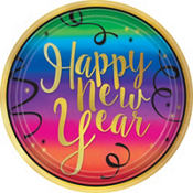 Colorful New Year's Tableware