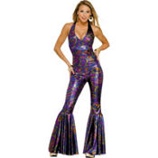 Adult Funky Dance Fox 70's Disco Costume
