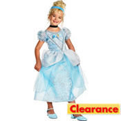 Girls Cinderella Costume Deluxe