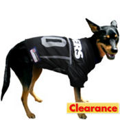 Oakland Raiders NFL Dog Jersey