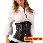 Black Lace Waist Cincher