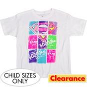 Colorblock Supergirl T-Shirt - Superman