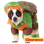 Teenage Mutant Ninja Turtles Michelangelo Dog Costume