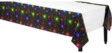 Night Lights New Year's Table Cover
