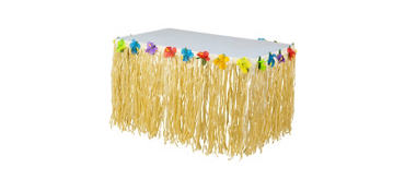 Luau Nylon Table Skirt