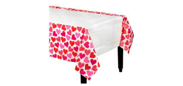 Key to Your Heart Valentine's Day Table Cover