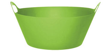 Kiwi Plastic Party Tub